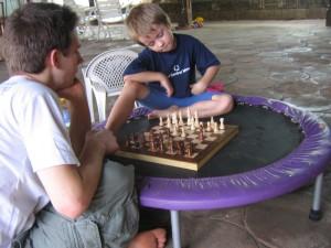 ein weiteres Schachspiel mit Joel