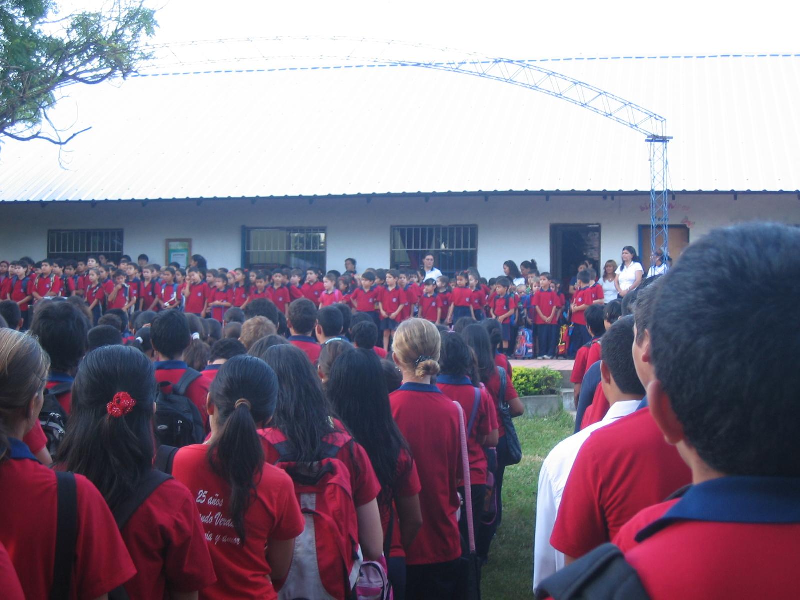 die versammelte Schule