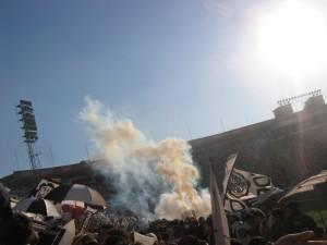 """<h3> Spontanes Wochenende Teil II (mein erstes Fußballspiel!)</h3>    <a href=""""http://www.bennisblog.de/?p=408"""">img_7399</a>"""
