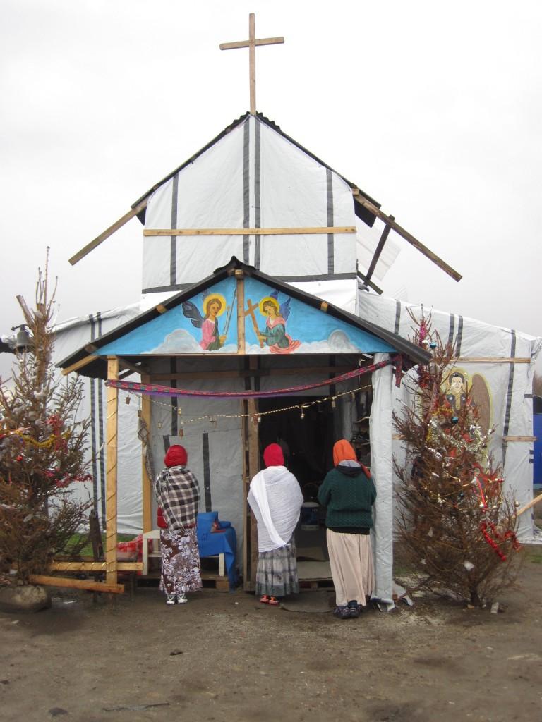 orthodoxe Kirche im Dschungel